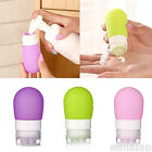 Portable Silicone Travel Packing Press Bottle for Lotion Shampoo Bath Container