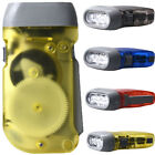Wind up Hand Pressing Crank Emergency Camping Super Bright LED Flashlight Torch
