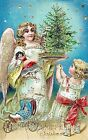 Christmas Angel Gifts Quilt Block Multi Sizes FrEE ShiPPinG WoRld WiDE (C6