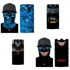 Face Shield Sun Mask Neck Gaiter Balaclava Scarf Headwear Skull Fishing Camping