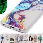 Shockproof slim noctilucent Art lover TPU Case cover skin for Huawei ASUS mobile