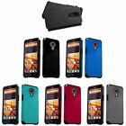 2-Layer Hybrid Cover Case For ZTE Virgin Assurance QLink N817 Quest Legacy Uhura