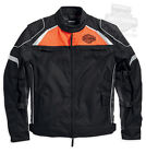 Harley-Davidson Mens B&S Switchback Riding Black Functional Jacket 98091-15VM