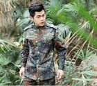 Men Military BDU Tactical Uniform Shirt Pants Hunting Airsoft Suit Special Force