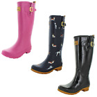 Joules Welly Women's Rubber Rain Boots Waterproof Assorted Prints & Styles