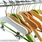 Hangerworld Factory Seconds Children's Wooden Hangers - Baby & Kids 25cm - 30cm