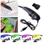US New Mini USB Laptop Computer Keyboard Vacuum Cleaner Brush Dust Collector Kit