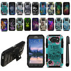 For Samsung Galaxy S6 Active G890 Hybrid Rugged Heavy Duty Stand Case + Pen