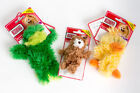 Kong Tiny Plush Duck, Frog or Bear Toy - ideal for puppy and little dogs