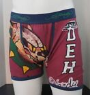 Ed Hardy Men's Athletic Bulldog Vintage Red/Navy Boxer Briefs New