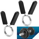 2Pcs 50/30/28mm Spring Collar Clips Barbell Clamp Gym Weight Bar Dumbbell Lock