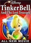 Tinker Bell And The Lost Treasure (DVD,  2009) From Walt Disney