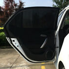 2x Car Side Rear Window Sun Visor Shade Mesh Cover Shield Sunshade UV Pro M L XL