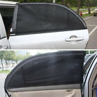 2Pcs Car Side Rear Window Sun Visor Shade Mesh Cover Shield UV Protector 3 Sizes