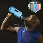 2.2L Big Sports Kettle Gym Training Drink Water Bottle Cap Workout without BPA