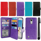 For LG Aristo MS210 LV3 M150 Fortune Flip Card Cash Slot Wallet Cover Case + Pen