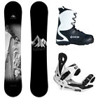 NEW System Timeless and Summit Complete Men's Snowboard Package