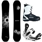 NEW 2017 System DNR and Summit Men's Snowboard Package