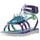 Irregular Choice Crab Gladiator Kids Sandals Purple New Shoes