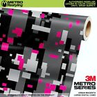 LARGE DIGITAL URBAN MAGENTA Camouflage Vinyl Car Wrap Camo Film Sheet Adhesive
