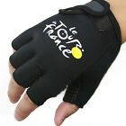 Cycling Bike Flexible Wearable Bicycle Half Finger Gloves One Size