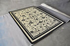 Area Rug Carpet Indoor Outdoor Hand Crafted Carved Rugs H11