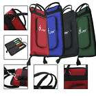New Percussion Drum Stick Bag Soft Case With Shoulder Strap Green Black Red Blue