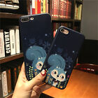 Soft TPU Relief Case For Iphone 7 7 Plus 5S 6 6S 6 Plus Gel 3D Cover Squirrel