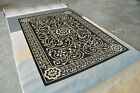Area Rug Carpet Indoor Outdoor Hand Crafted Carved Rugs H14