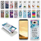 For Samsung Galaxy S8 G950 Anti Shock Studded Bling HYBRID Case Cover + Pen