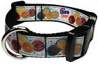 """ITS COOKIE TIME 1"""" PERSONALIZED PET DOG COLLAR"""