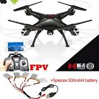 SYMA X5SW-1 RC Quadcopter Drone 6-Axis W/ HD FPV Wifi Camera Headless UK SELL