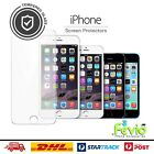Apple iPhone Screen Protector Tempered Glass By Fevio For 4,4s,5,5C,5S,6,6S,7 +