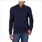 NWT Mens Calvin Klein Jeans Mock Neck 1/4 Zip Pullover Sweater Variety Sizes