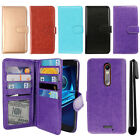 For Motorola Droid Turbo 2 Kinzie XT1585/ X Force Card Wallet Cover Case + Pen