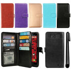 For Motorola Droid Ultra XT1080 XT1080M Flip Card Holder Wallet Cover Case + Pen