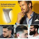 Men's Beard Trimmer Comb Shaping Template Tool Stainless Steel Grooming Kit New