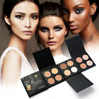 4 Colors Beauty Makeup Face Powder Glow Kit Gleam Highlighter Bronzers Palette