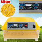 24/48Egg Digital Automatic Incubator Chicken Poultry Hatcher Temperature Control