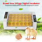 24 48Egg Digital Automatic Incubator Chicken Poultry Hatcher Temperature Control