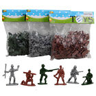100pc Army Men Toy Soldiers Military Plastic Figurine Action Figure Party Favors