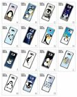 Penguins Funny Cute Baby Pattern Hard Back Case for Samsung Galaxy S8/S8 Plus