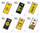 Road Sign Caution Warning Hard Back Cover Case for Samsung Galaxy S8/S8 Plus