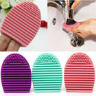 Cleaners Egg Cleaning Glove MakeUp Washing Brush Scrubber Board Brushegg