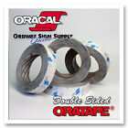 """ORACAL 1395TM 1"""" x 36 yrds High Tack Banner Hem Seam Double Coated Sided Tape"""