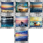 Boat & Sea Polyester Tablecloth Hanging Tapestry Wall Sticker Home Office Decor