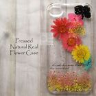 JBY Disegno Pressed Daisy Flower Hard Skin Case For iPhone 7 Samsung Galaxy S8