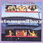 Boxing Champions the Pro Boxer 2017 CHAD stamps 6 value Sheetlet MNH GIFT UKpost