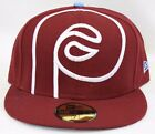 NEW Mens NEW ERA Philadelphia PHILLIES 59FIFTY retro Baseball Fitted Hat Cap