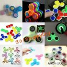 Luminous Anti-Stress Hand Spinner Tri Fidget Finger Gyro Autism EDC Focus Toy